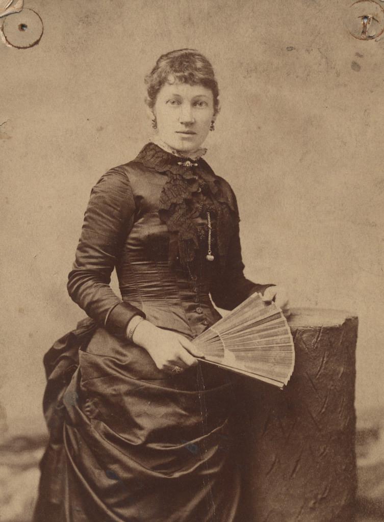 Portrait of Emily Cox Wigle, date unknown