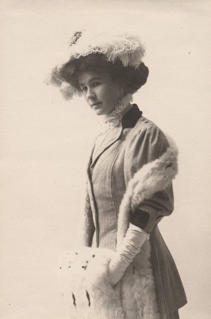 Portrait of Florence Sallows, date unknown