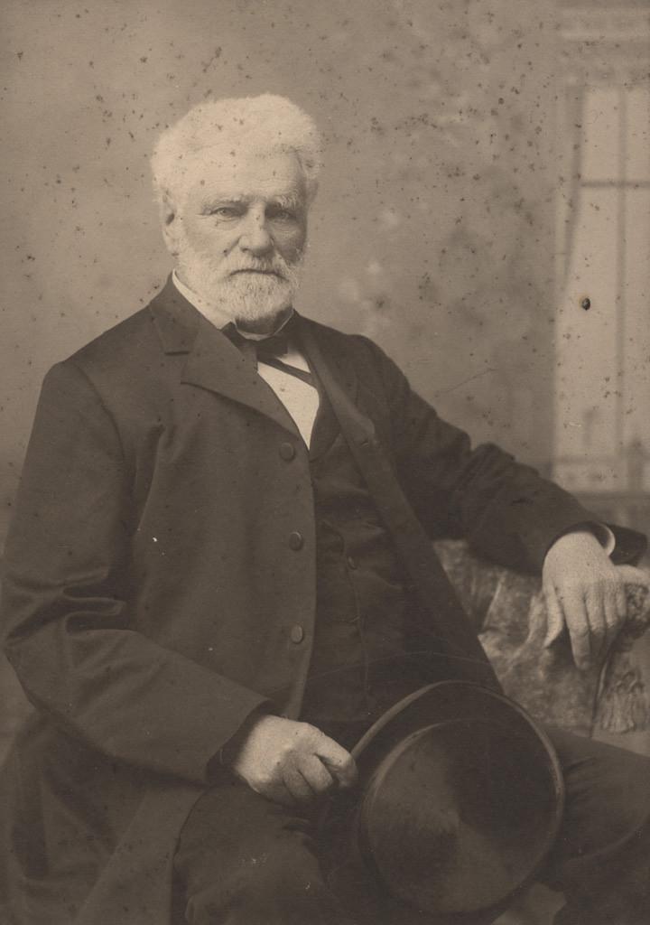 Портрет Арчи Диксона, почтмейстера, дата неизвестна