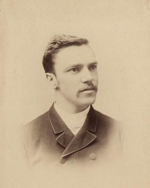 Portrait of Rev. G.F. Salton, date unknown