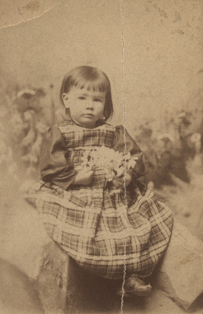 Portrait of young child, date unknown