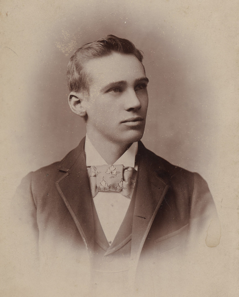 Portrait of young man, date unknown