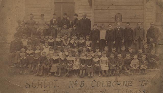 School Number 5, Colborne, date unknown
