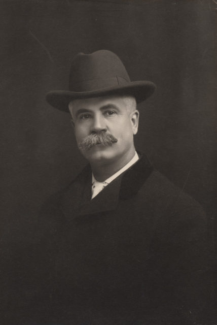 Self-portrait of Reuben R. Sallows , date unknown