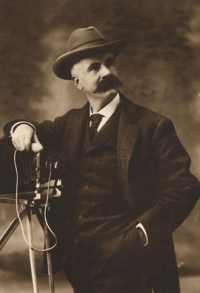 Self-portrait, Reuben R. Sallows, date unknown