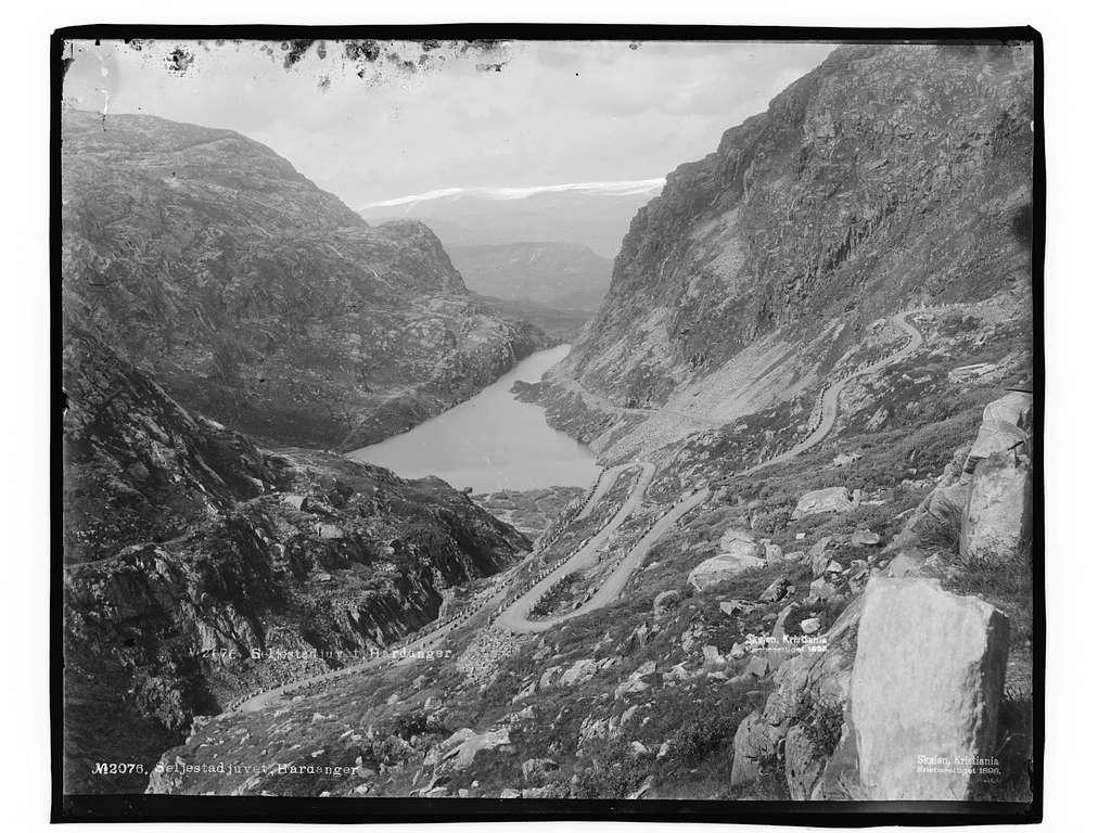 Seljestadjuvet, Hardanger - NB MS G4 0889