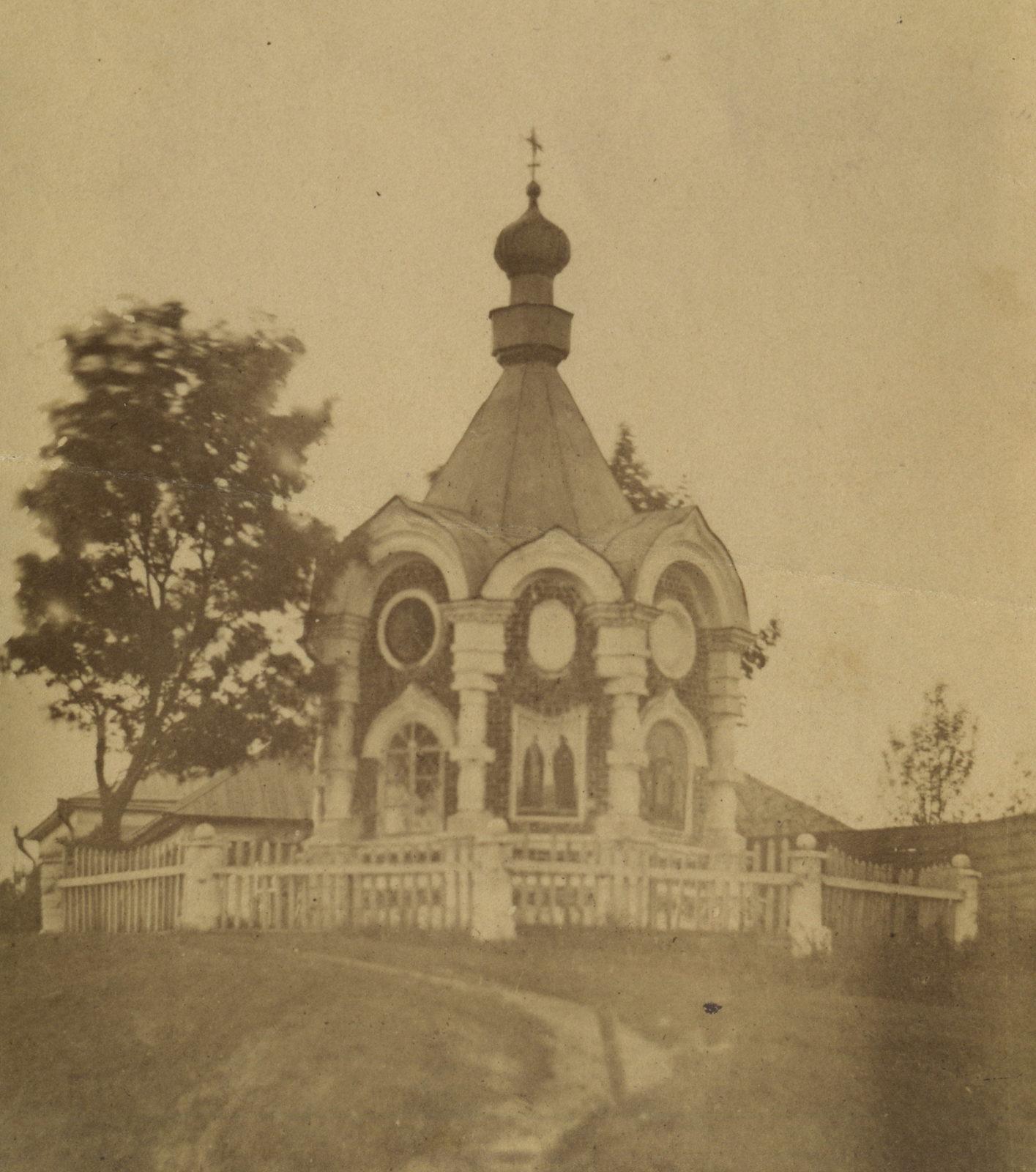 St. Michael's Chapel. 1910's. Murom, Vladimir Province, Russia