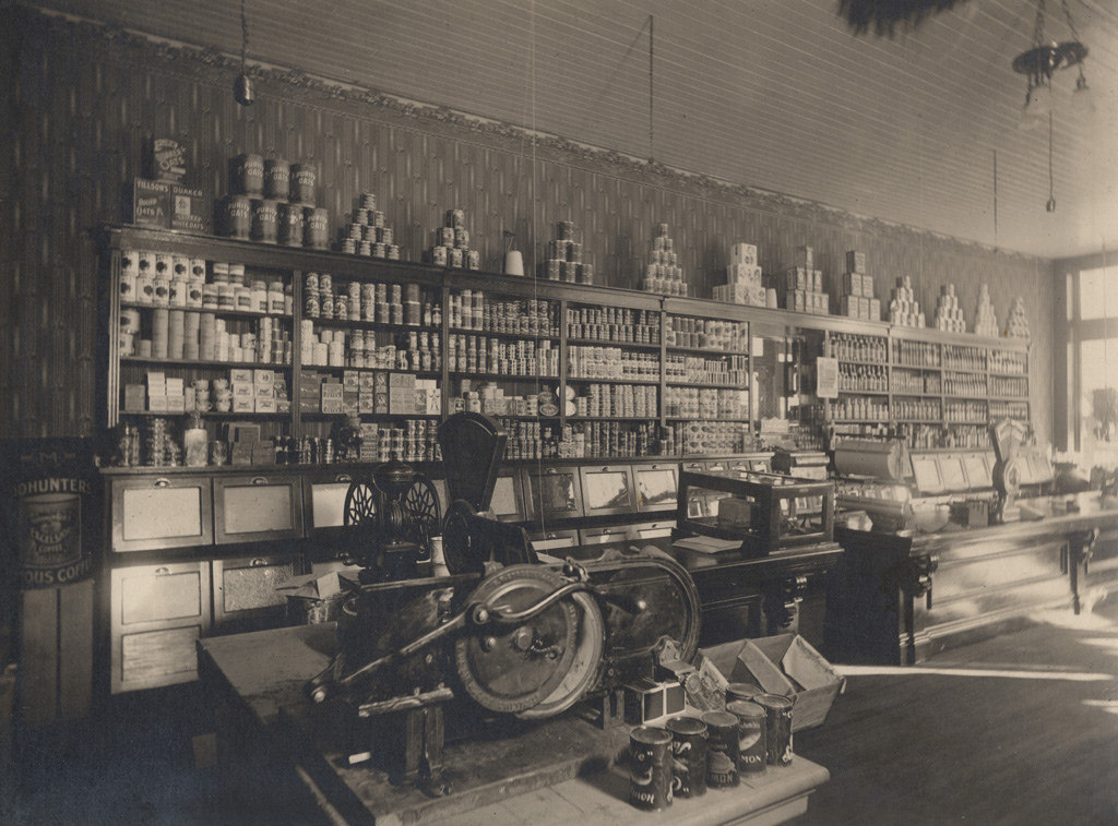 Store interior, date unknown