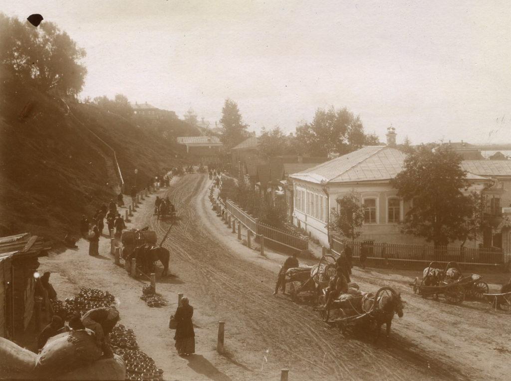 Street scene. Murom, 1900s
