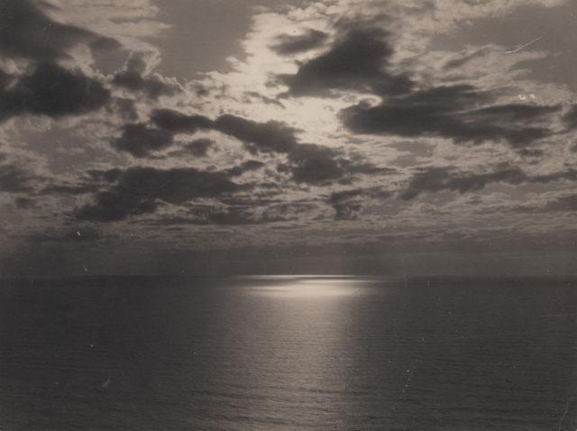Sunset Lake Huron, date unknown