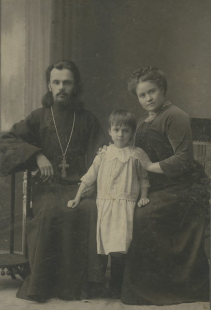 The family of the priest. Murom, 1900 - 1910