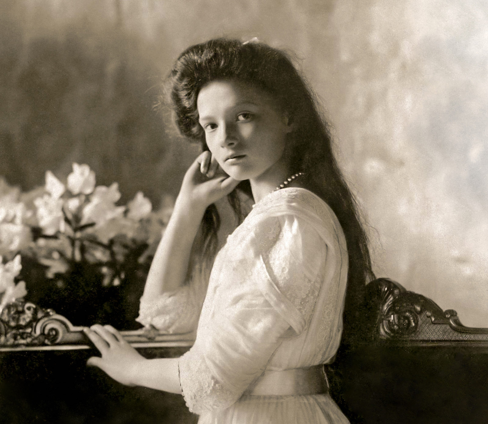 The Grand Duchess Tatiana Nikolaevna.  The second daughter of the Russian Emperor Nicholas II.