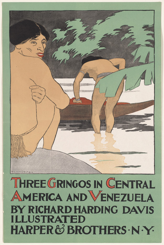 Three gringos in Central America and Venezuela by Richard Harding Davis