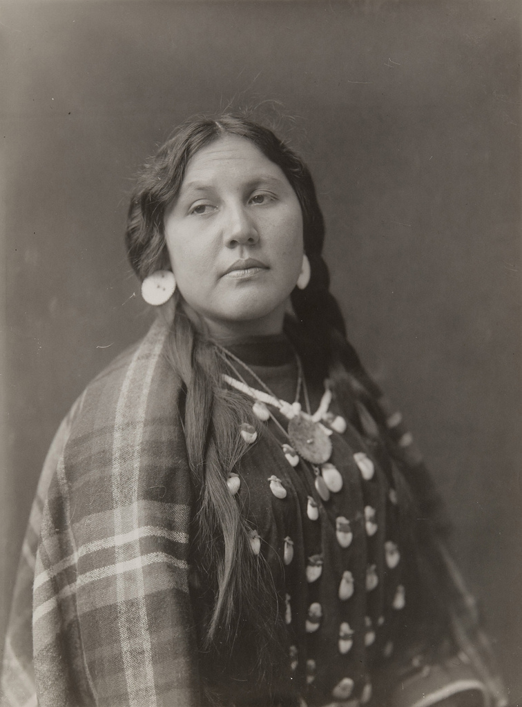 Untitled (Native American woman)