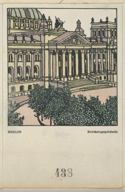 Berlin: Reichstag Building (Reichstagsgebäude)