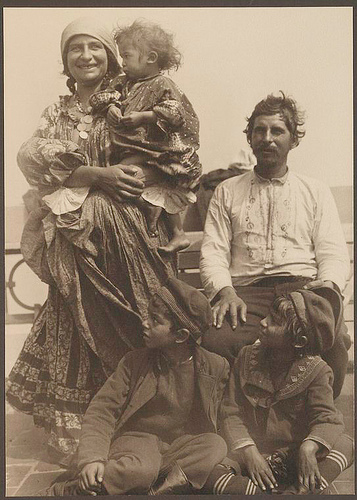 Gypsy family.