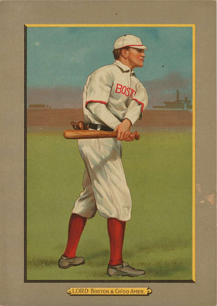 Harry Lord 1911 Turkey Red Cabinets baseball card
