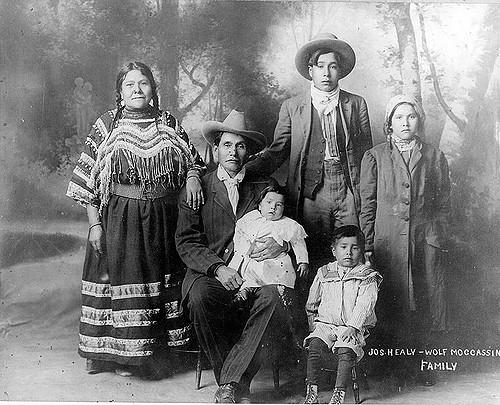 Joe Healy and his family