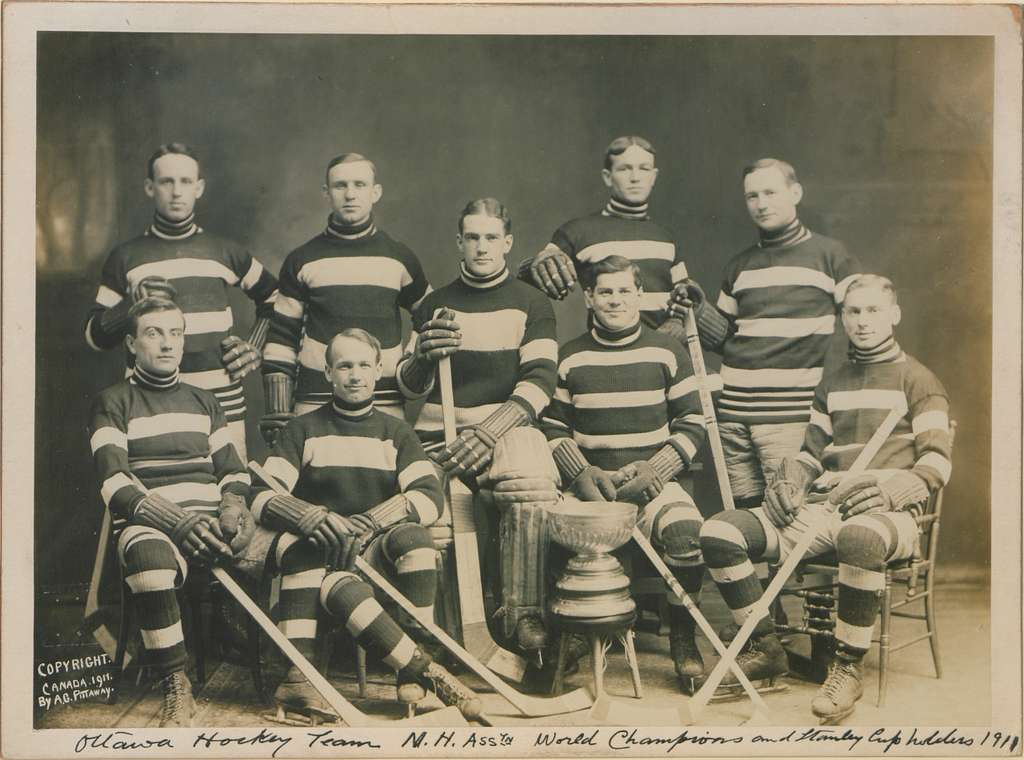 Ottawa Hockey Team, NH Association World Champions and Stanley Cup Holders, 1911 (HS85-10-23753)