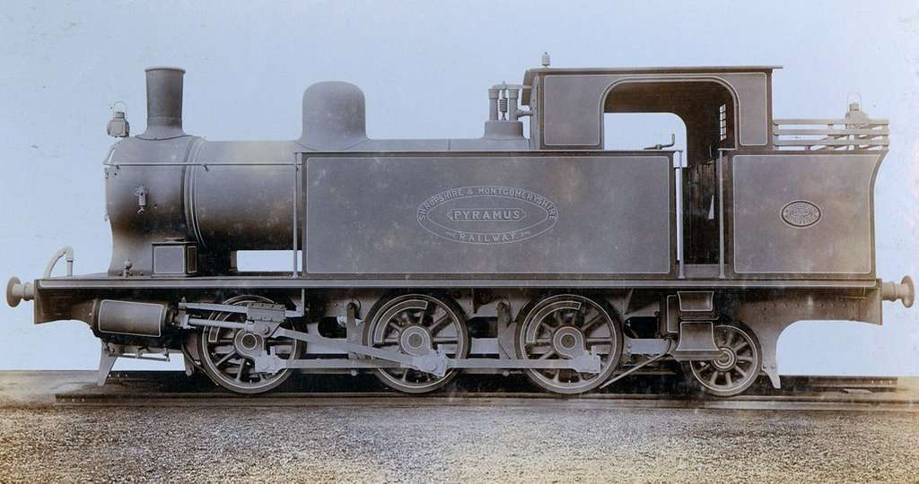 Side Tank Engine 'Pyramus' built in Newcastle upon Tyne