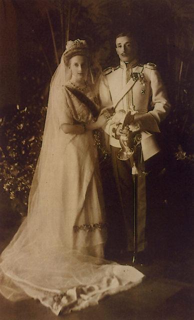 Tatyana Konstantinovna and Prince Constantine Bagration - Mukhransky.