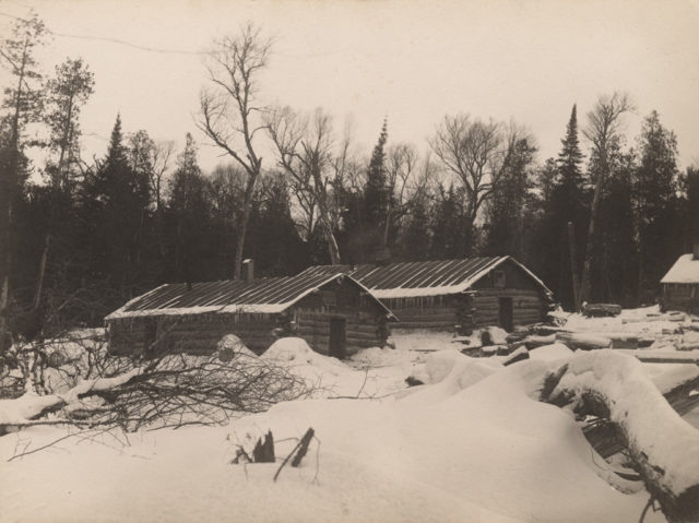 Two cabins, 1911