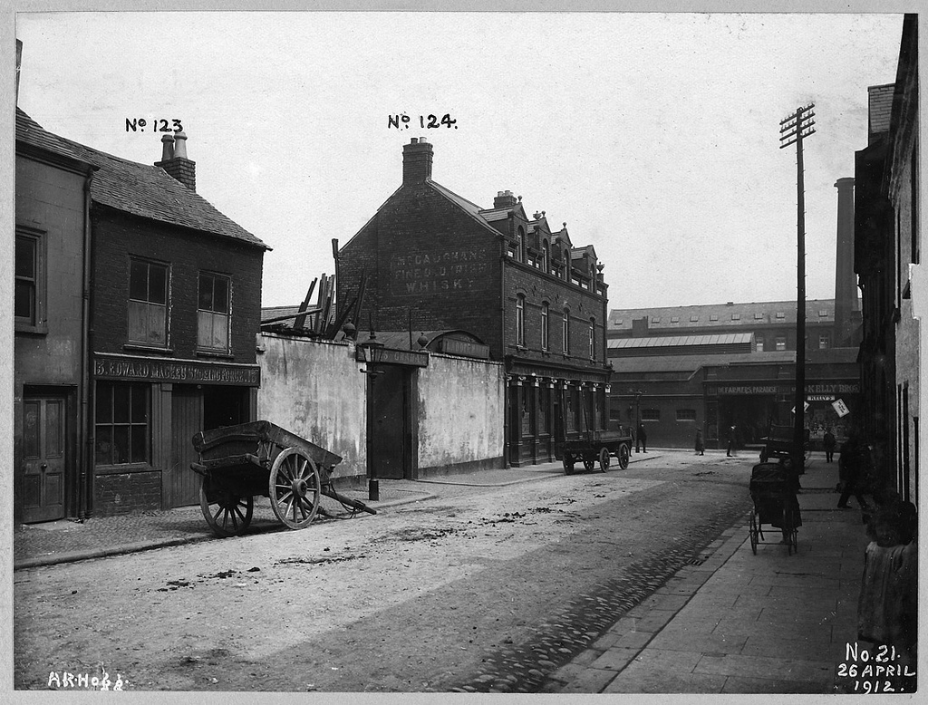 Gardiner Street Area: Brown Street looking towards Millfield