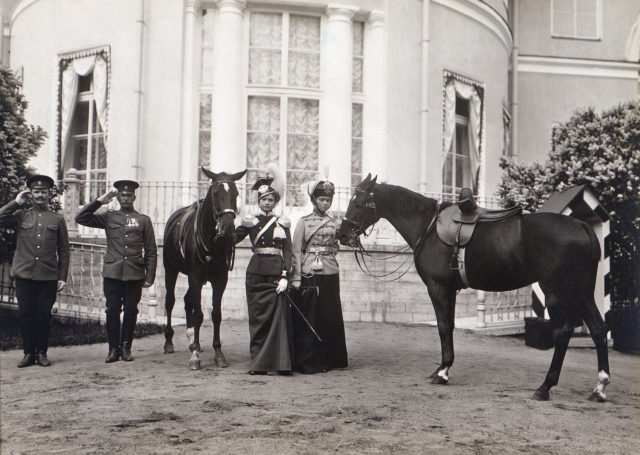 Grand Duchess Olga Nikolaevna and Tatiana Nikolaevna