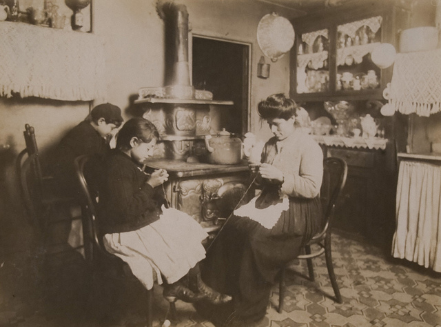 Lace makers, New York City - Jan.
