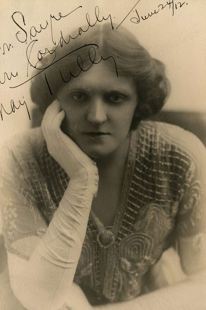 May Tully, vaudeville actress (SAYRE 10436) - PICRYL Public Domain Search