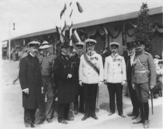 Meeting of Nicholas II with Wilhelm II