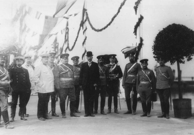 Meeting of Nicholas II with Wilhelm II