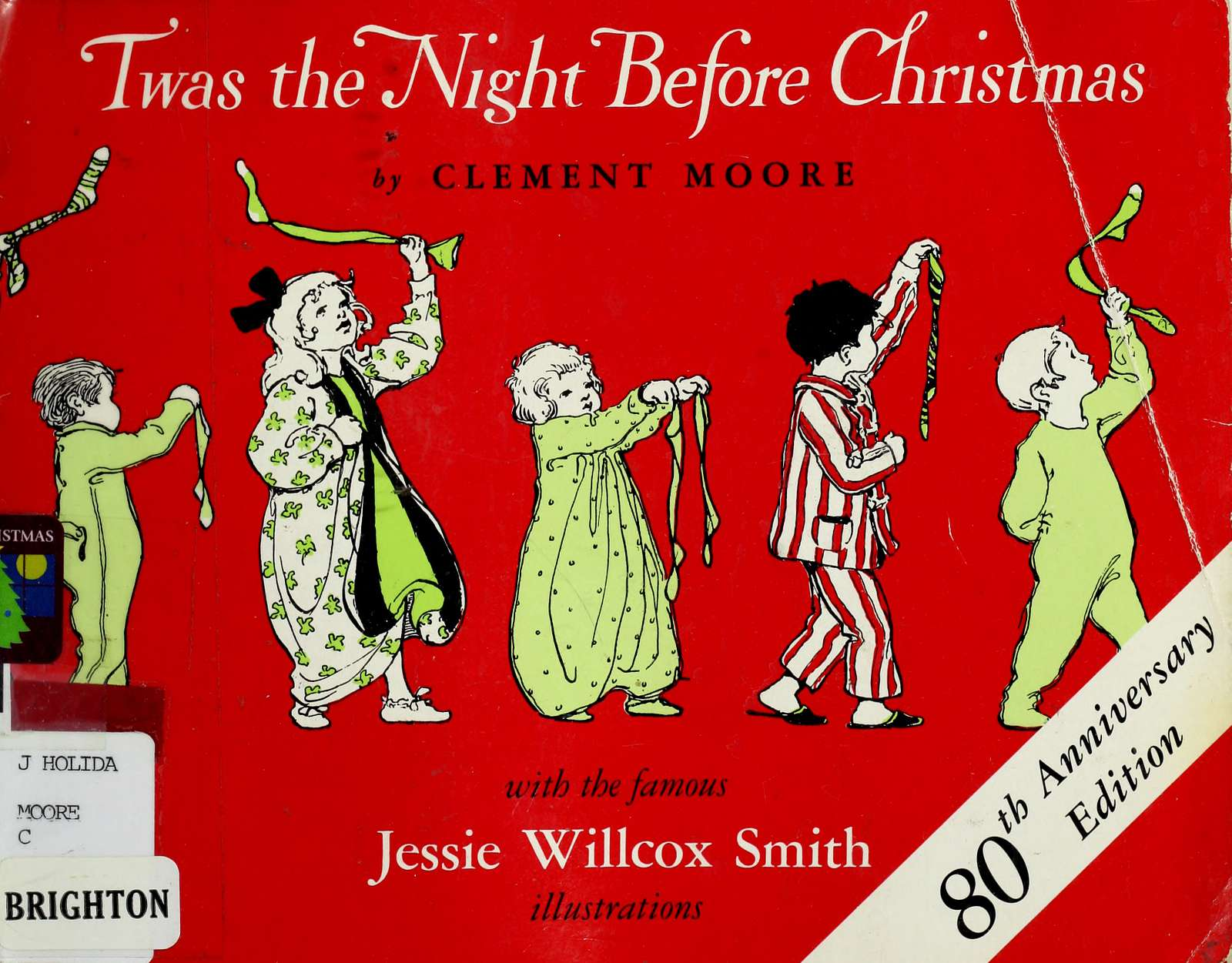 Twas the Night Before Christmas - 1912 edition of the poem, illustrated by Jessie Willcox Smith