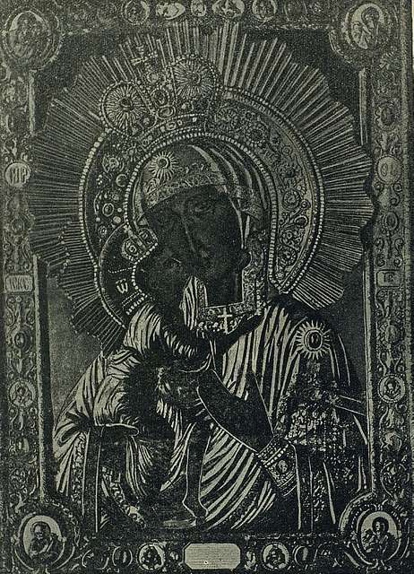 Miraculous Theodore Icon of the Mother of God. Kostroma.