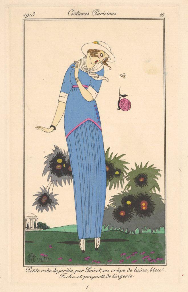 Petite robe de Jardin, from Costumes Parisiens