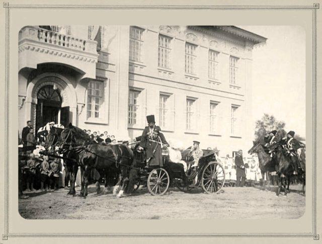 Emperor Nicholas II in Kostroma. 1913