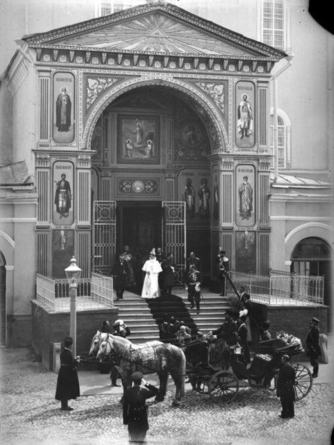 Emperor Nicholas II. in Nizhny Novgorod, 1913..