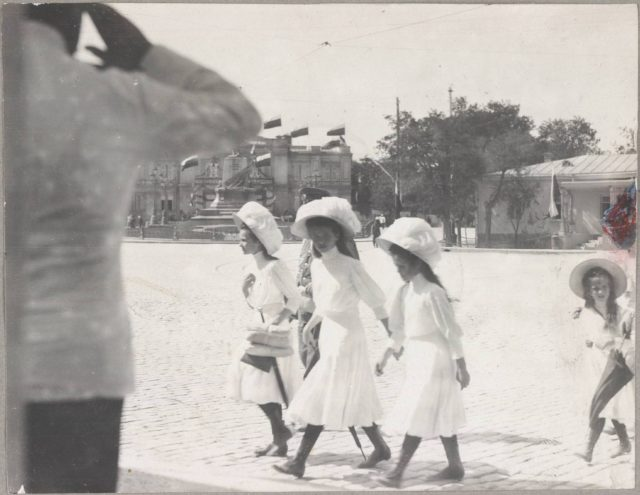 Family of Nicholas II Romanov in Sevastopol