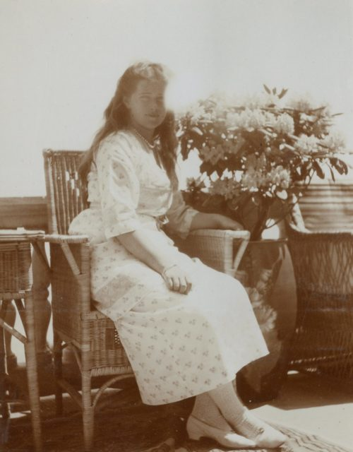 Grand Duchess Olga Nikolaevna of Russia.