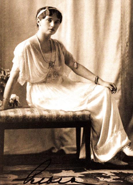 Grand Duchess Olga Nikolaevna,1913