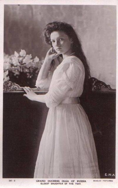 Großfürstin Olga von Russland, Grand Duchess of Russia