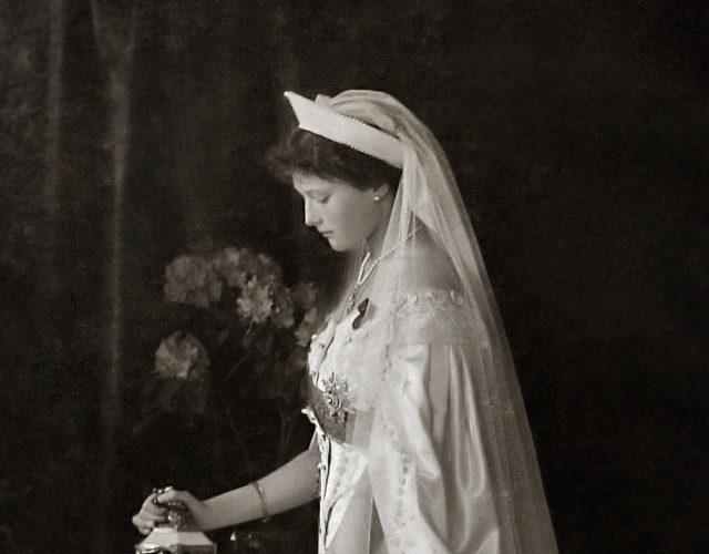 Her Imperial Majesty Grand Duchess Tatiana Nikolaevna. The second daughter of Emperor Nicholas II and Empress Alexandra Feodorovna. Official portrait. Photo of 1913.