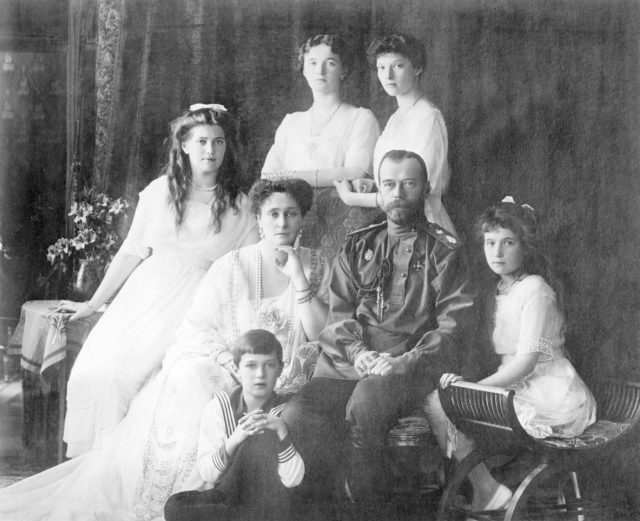 Russian Imperial family - circa 1913