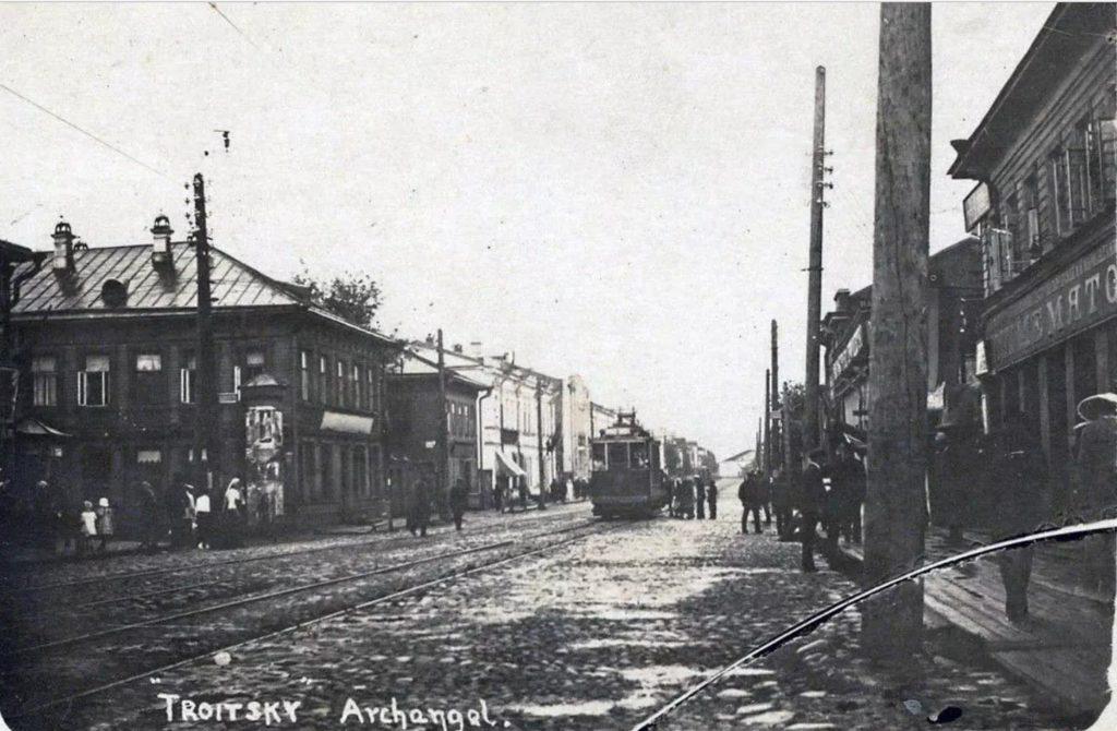 Troitsky street, Arkhangelsk (Archangel)