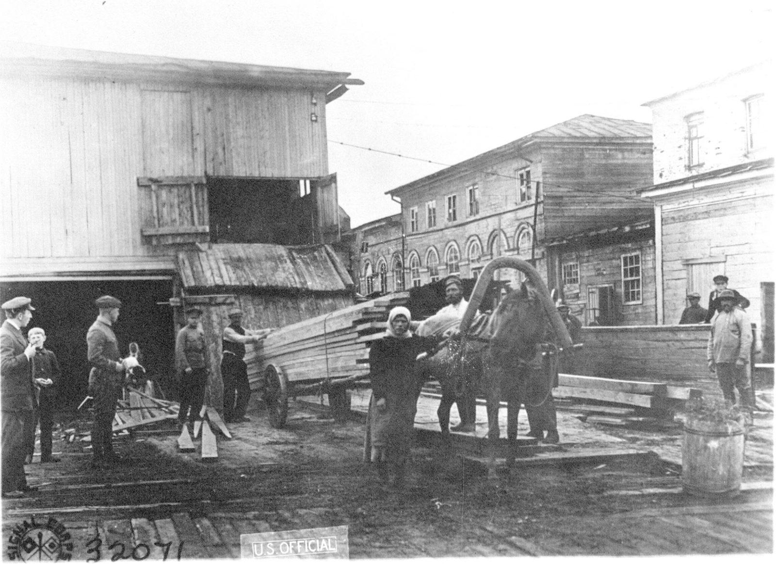 Arkhangelsk wood sawmill trade (Archangel)