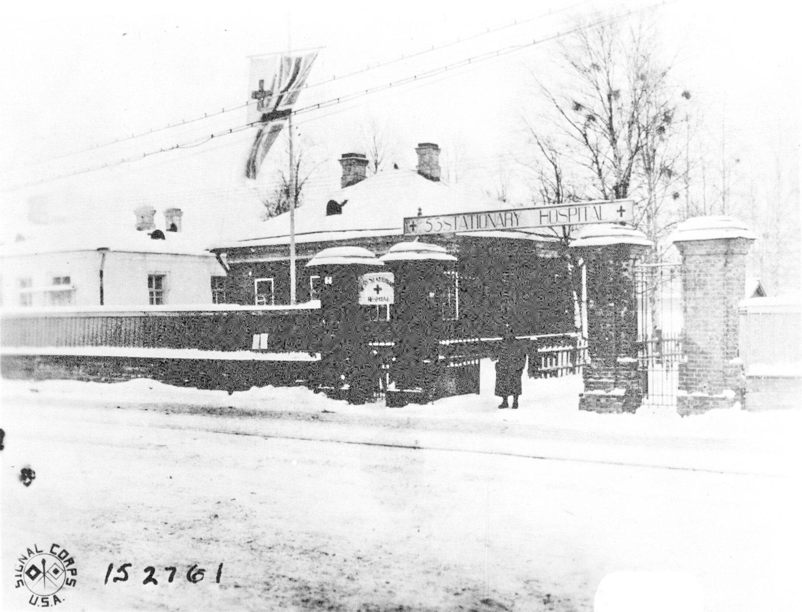 53 Stationary Hospital. Intervention, 1917, Arkhangelsk (Archangel)