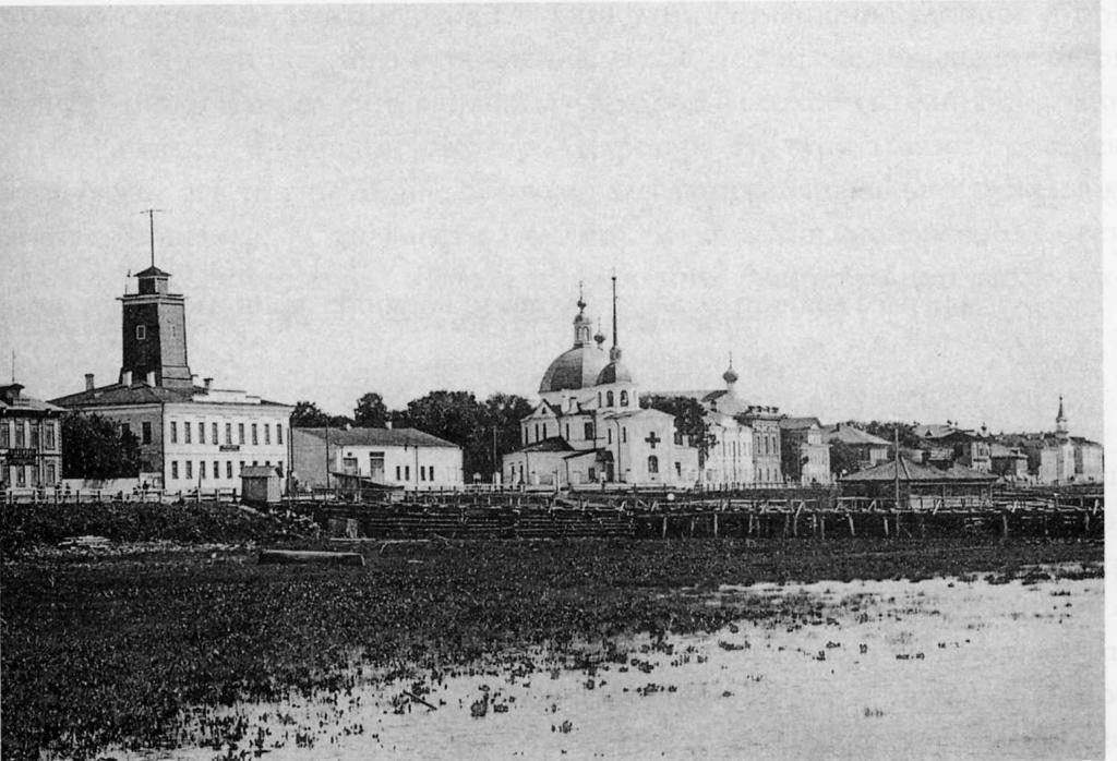 Arkhangelsk from river, (Archangel)