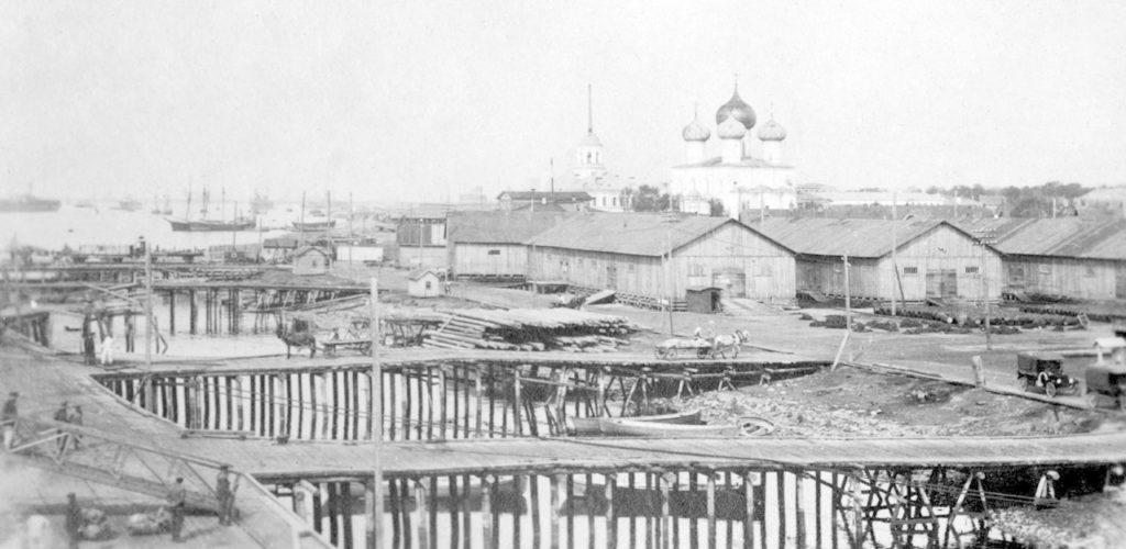 Arkhangelsk merchant port (Archangel)