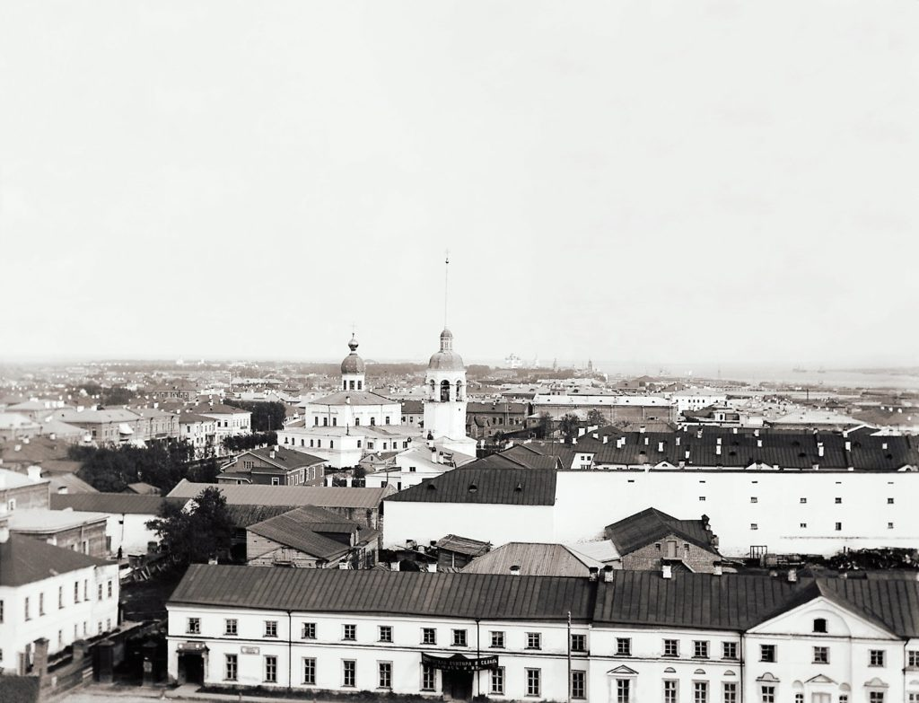 Arkhangelsk panoramic view (Archangel)