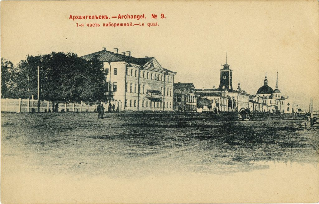 Arkhangelsk from river (Archangel)